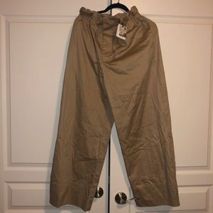 Zara paper bag pants